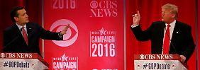 """""""Du bist der größte Lügner"""": Neun Lehren aus der Republikaner-Debatte"""