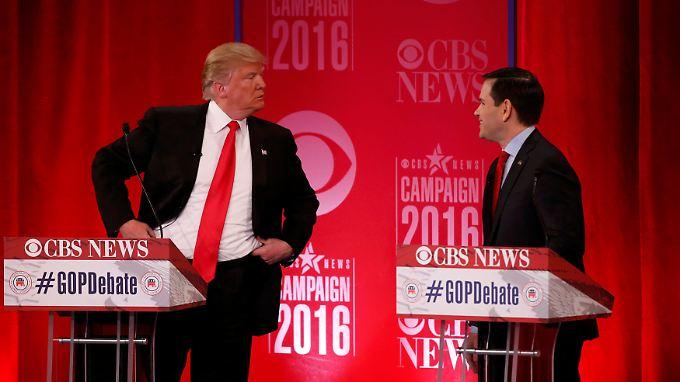 TV-Debatte wie im Kindergarten: Republikaner verlieren sich in wildem Schlagabtausch
