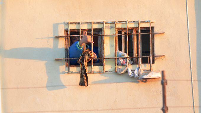 Dieser Insasse genießt offenbar keine besonderen Privilegien im mexikanischen Gefängnis Topo Chico.