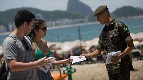 """Erster Zika-Schnelltest entwickelt: Brasiliens Militär führt """"Krieg"""" gegen Tigermücken"""