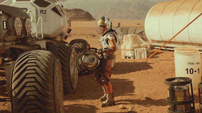 """Mehr Science als Fiction: Der Film """"Der Marsianer"""" besticht in weiten Teilen durch wissenschaftliche Genauigkeit."""