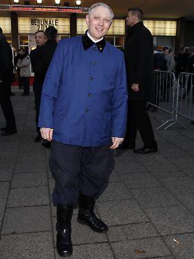 """Mark Reeder, der """"uniformgeile"""" Brite, im Februar 2015 bei der Berlinale, vor der Premiere seines Films """"B-Movie: Lust & Sound in West-Berlin""""."""