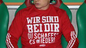 Von den Mitspielern gab's viel Zuspruch für Holger Badstuber.