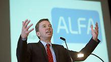 Wegen Spitzenkandidatur: Lucke gibt Alfa-Vorsitz ab