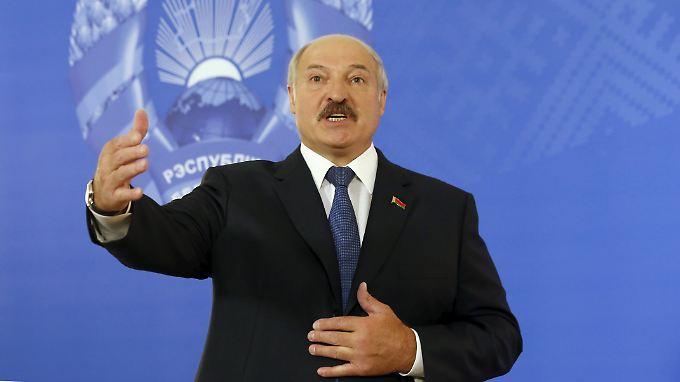 Darf wieder in die EU reisen: Weißrusslands Staatschef Alexander Lukaschenko.