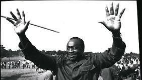 """Der Dikatator Idi Amim wurde der """"Schlächter von Afrika"""" genannt."""