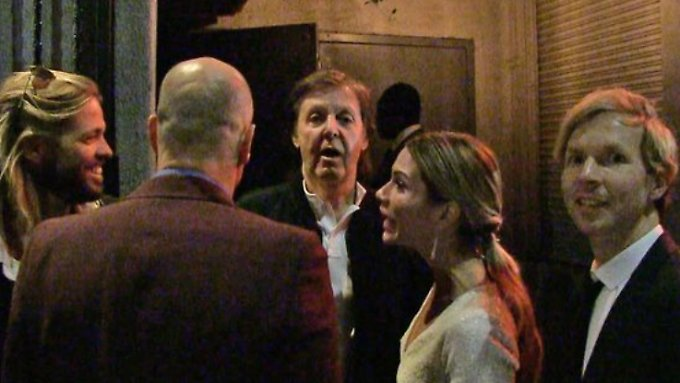Harte Tür in Hollywood: Paul Mccartney kommt nicht auf eine Grammy Aftershow-Party.