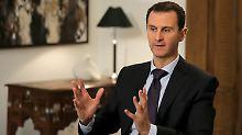Syrischer Präsident von Russlands Gnaden: Baschar al-Assad.