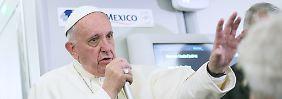 Abtreibung oder Verhütung?: Zika-Virus treibt Papst in die Enge