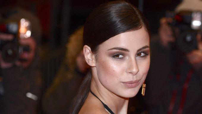 Alle Augen auf Lena - die Sängerin am 13. Februar 2016 auf der Berlinale.