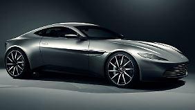 Fahrspaß wird der unbekannte Käufer mit dem Aston Martin DB10 nicht auf allen Wegen haben.