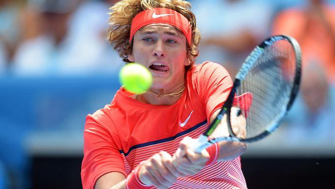 Alexander Zverev ist die neue deutsche Tennishoffnung.
