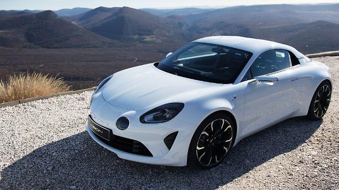 Eine ganze Serie soll aus dem neuen Renault Alpine erwachsen.