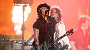 Promi-News des Tages: Johnny Depp will dem Kino vorerst den Rücken kehren