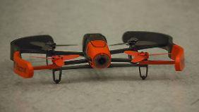 Parrots Bebop-Drohnen eignen sich auch für den Außeneinsatz.