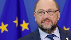 """Martin Schulz zur Einigung mit Großbritannien: """"Das ist ein fairer Kompromiss"""""""