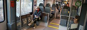 """Erste Reise auf der Unglücksstrecke: Fahrgäste haben ein """"mulmiges"""" Gefühl"""