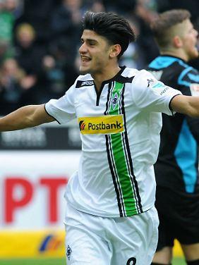 Tor für die Borussia: Mo Dahoud.