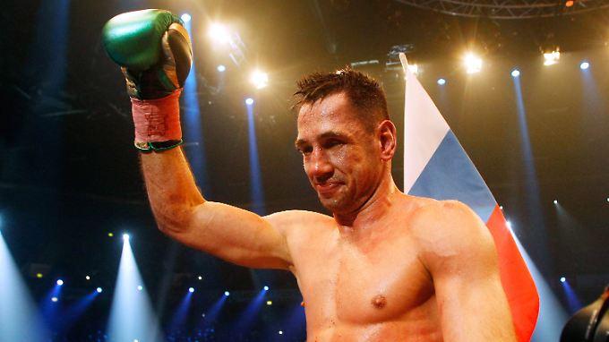 Gezeichneter Weltmeister: Felix Sturm.