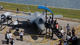 Die USA exportieren allein 611 F-35-Kampfflugzeuge.