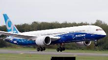 Schon wieder Ärger mit Dreamliner: Boeing muss wegen Motorschaden umkehren