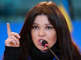 In der Jury saß auch Ruslana - Ex-ESC-Gewinnerin und politische Aktivistin in der Ukraine.