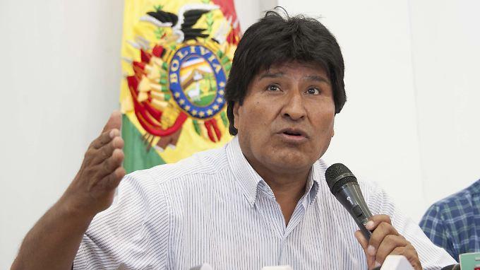 Gibt sich noch nicht geschlagen: Evo Morales