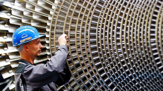 Beim Turbinenhersteller MAN-Turbo in Oberhausen