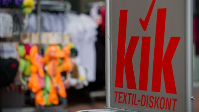 Textil-Discounter Kik will langfristig auch in den USA Fuß fassen.