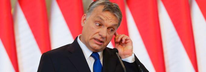 Orban war von Anfang an gegen eine EU-Quote für Flüchtlinge.