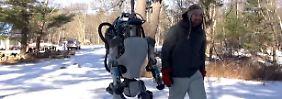 Macht die Maschine Menschen Angst?: Google will Roboter-Schmiede loswerden