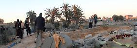 Opfern die Kehle durchtrennt: IS greift westlich von Tripolis an