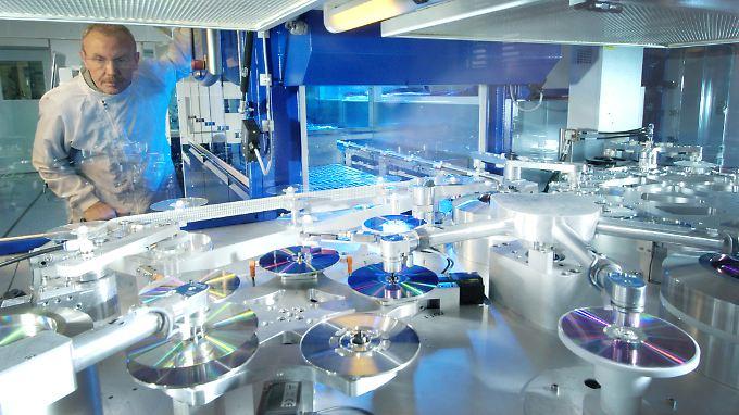 Labor beim Dax-Konzern Bayer.