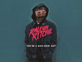 "Raleigh Ritchies Album ""You're a Man Now Boy"" ist R'n'B - in gut."