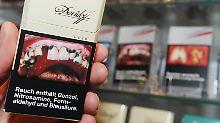 Folge der EU-Schockbildverordnung: Einnahmen aus Tabaksteuer brechen ein