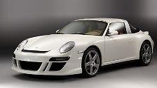 Edel-Roadster von Ruf:Der umgebaute Porsche 911 kostet mindestens 232 050 Euro. (Bild: Ruf Automobile/dpa/tmn)