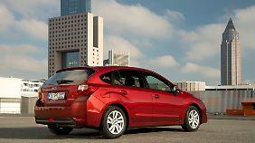 Bei der Ausstattung des Subaru Impreza wurde trotz des Preisnachlasses nicht gespart.