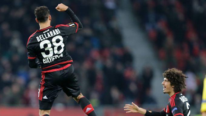 Karim Bellarabi war der entscheidende Mann auf Leverkusener Seite.