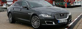 Mit 300 PS und hochklassiger Ausstattung kostet der Jaguar XJ stolze 114.250 Euro.