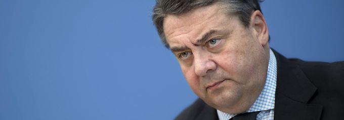 Unter Zugzwang: SPD-Chef Sigmar Gabriel.