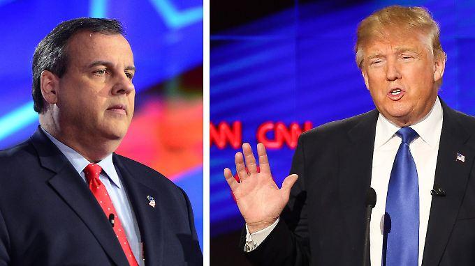 Nach seinem enttäuschenden Abschneiden in Iowa und New Hampshire zog Chris Christie seine Bewerbung für die Republikaner zurück.