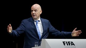 Scheich Ahmad Fahad Al-Sabah aus Kuwait behauptet, die Wahl von Gianni Infantino im zweiten Durchgang sein abgesprochen gewesen.