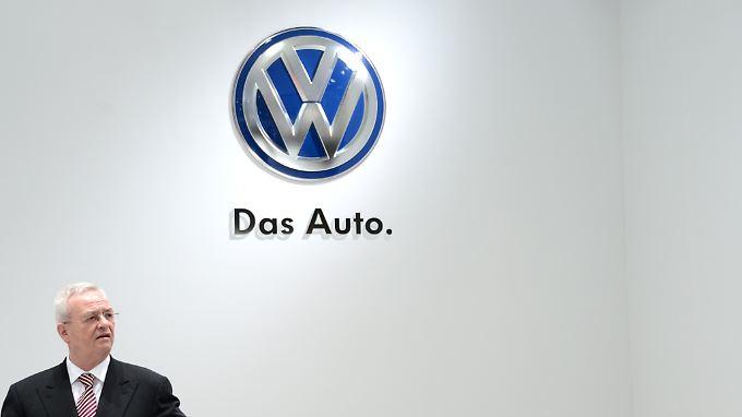 Informierte die Öffentlichkeit anscheinend erst zwei Wochen nach den internen Veröffentlichungen: Ex-VW-Chef Martin Winterkorn