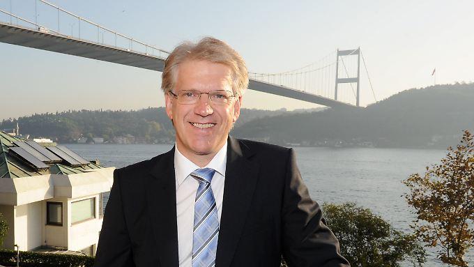Dieter Manz plant, die nächsten fünf Jahre Vorstandschef zu bleiben.