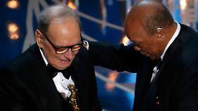 Es ist nicht der erste Oscar für Ennio Morricone - er hatte ihn bereits für sein Lebenswerk erhalten.