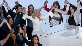 Lady Gaga bekam für ihren Auftritt viel Applaus.