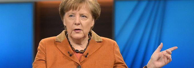 """""""Ja, es ist ein schwieriger Weg"""", sagte Kanzlerin Merkel am Sonntagabend. """"Das ist eine ganz wichtige Phase unserer Geschichte."""""""