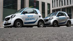 Entwurf für neues Gesetz steht: Sonderparkplätze sollen Carsharing attraktiv machen