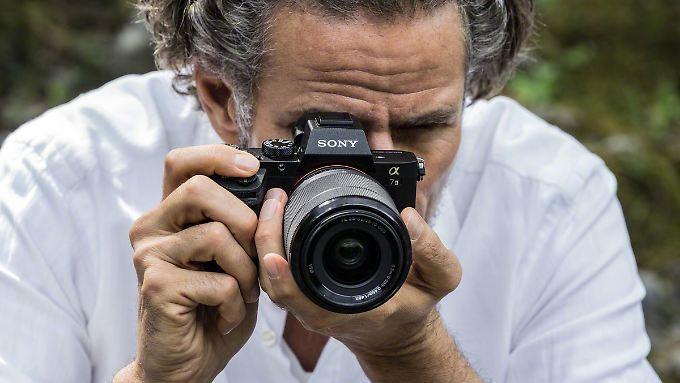 Die Sony Alpha 7 II machte im Test die besten Bilder - sie hat einen Vollformat-Sensor.