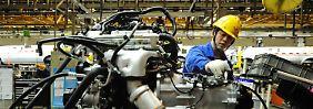 Industrie-Index bleibt klar unter der Wachstum bedeutenden Zahl 50.